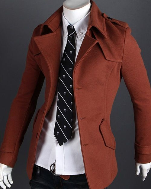 92 best Mens Coat images on Pinterest | Discount online shopping ...
