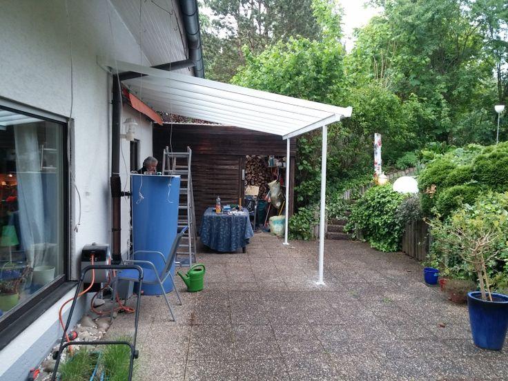 79 best images about gutta l line terrassendach carport for Dachkonstruktion carport