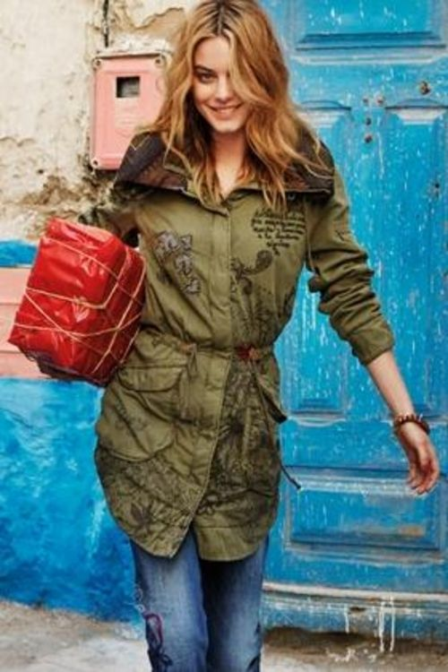 Desigual ALBACETE coat from Fall-Winter collection. We carry Desigual for  men, women