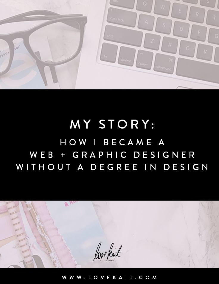 how to become a graphic designer without a degree