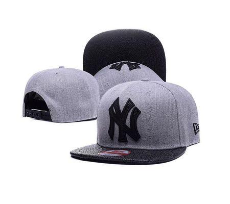 0b5672db8d8 New York Yankees Snapback Hat Black Brown