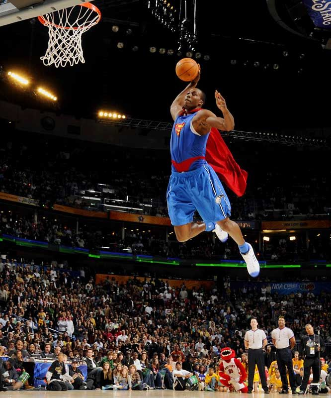 Dwight Howard Orlando Magic   aka Superman