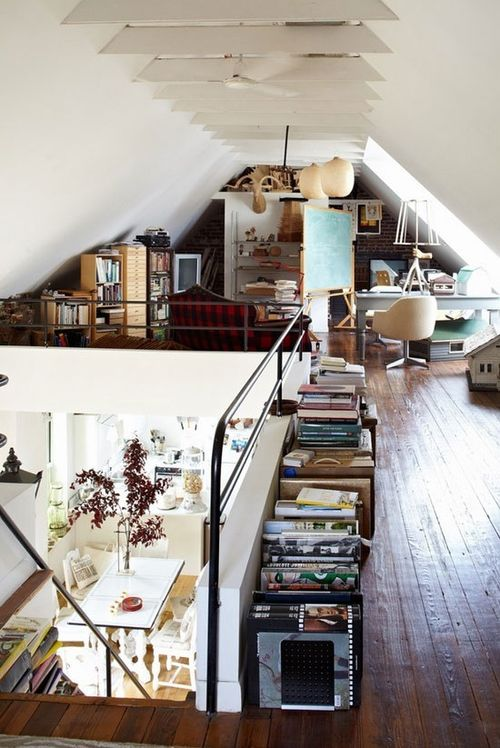 If I ever decide to open things up (remove ceilings, very tempting, but a hella lot o' work and mess)
