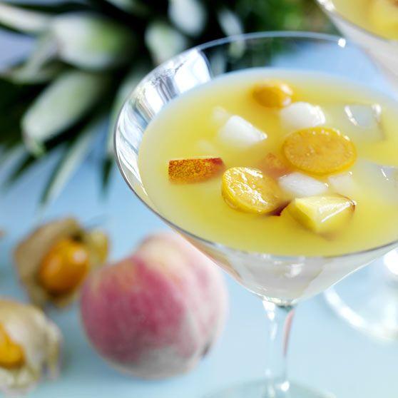 Exotisk fruktsoppa - Recept