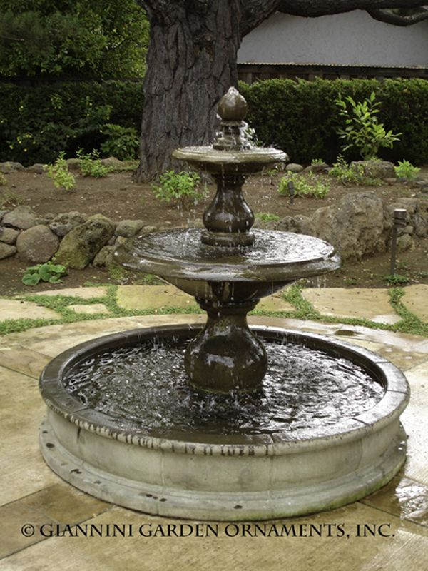Another Giannini Fountain. Large Outdoor FountainsGarden ...