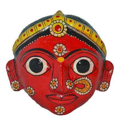 Cheriyal Sawdust Woman Face Mask