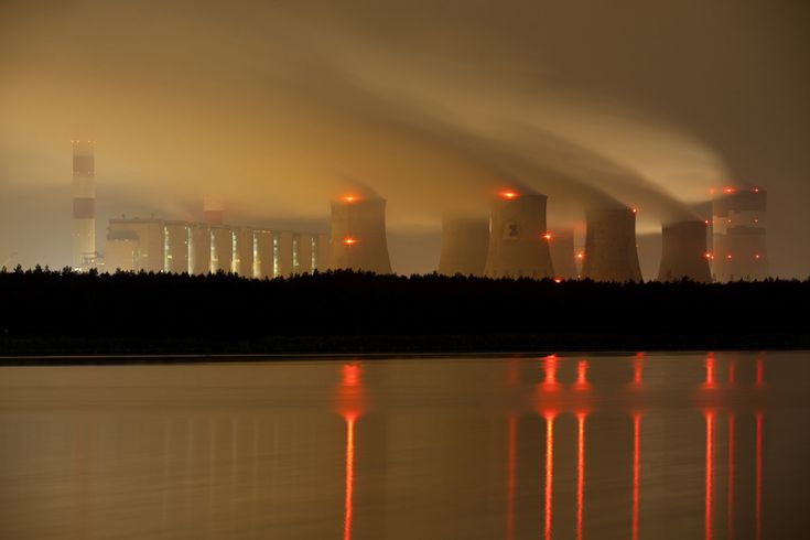 The Belchatow power plant, Sept. 28, 2011, in Belchatow, near Lodz central Poland. Poland's largest electricity producer PGE, started a new 858-megawatt generator earlier this year at its Elektrownia Belchatow coal-fired power plant, making it one of the largest in the world. (Darek Redos/AFP/Getty Images)