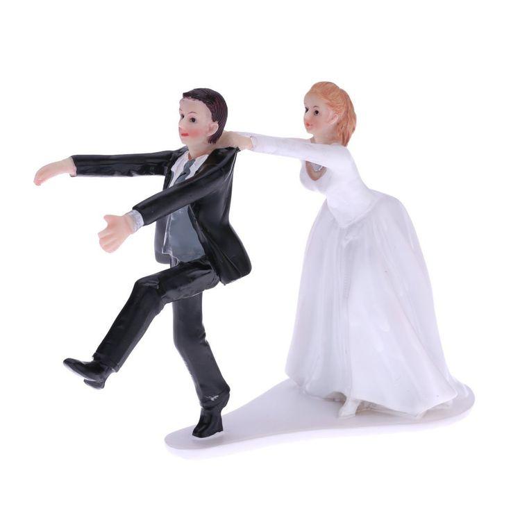 Amazon Anself 花嫁&花婿 ウェディングケーキトッパー 合成樹脂 ロマンチック ウェディングパーティー 装飾置物 クラフトギフト デザイン小物 オンライン通販