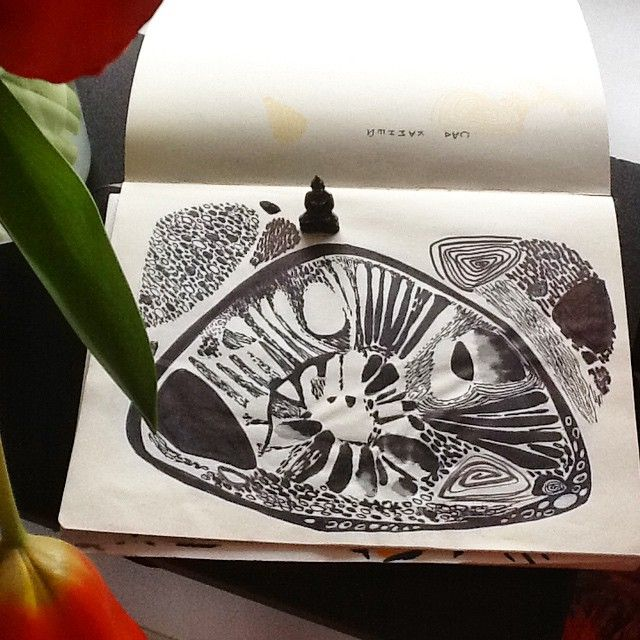 """Rock garden"" 2, sketch"
