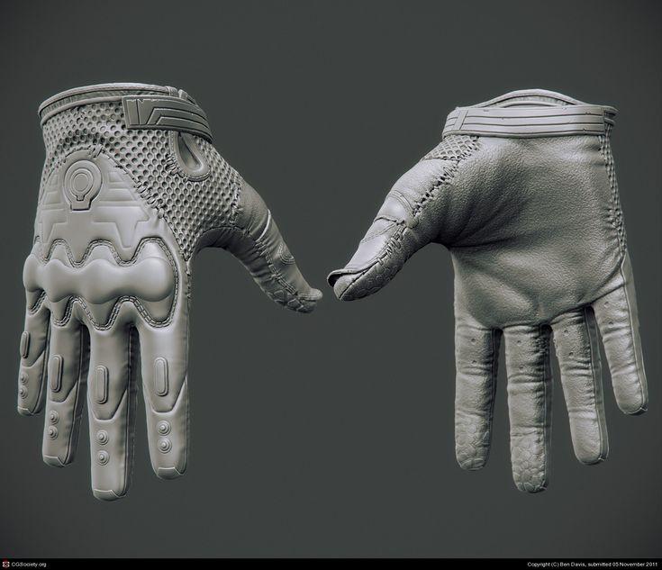 Brink: Resistance Operative Gloves by Ben Davis | 3D | CGSociety