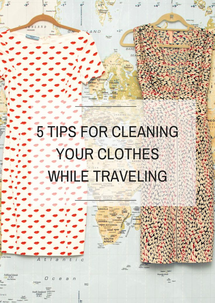 5 Tips for Keeping Clothes Fresh While Traveling via @thecoveteur