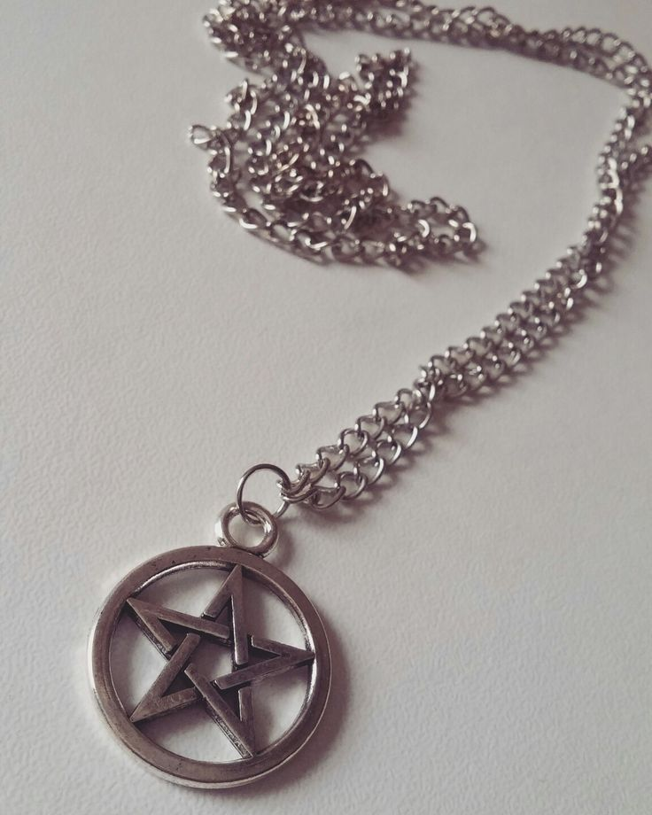 #supernatural #whinchester #pentagramma #necklace #bad