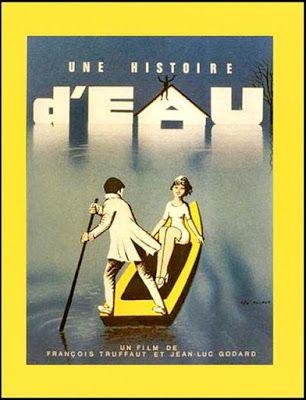 LAS PELÍCULAS QUE YO VEO: una página de cine: UNA HISTORIA DE AGUA (Une histoire d'eau, 1961), de François Truffaut y Jean-Luc Godard: Un poco de todo