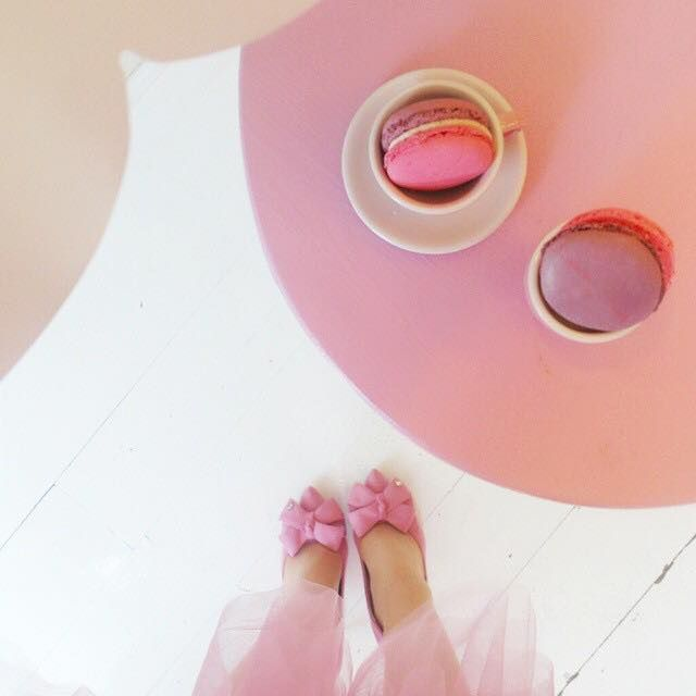 Pink mood with Pink Wish! #macarons #madamelucie