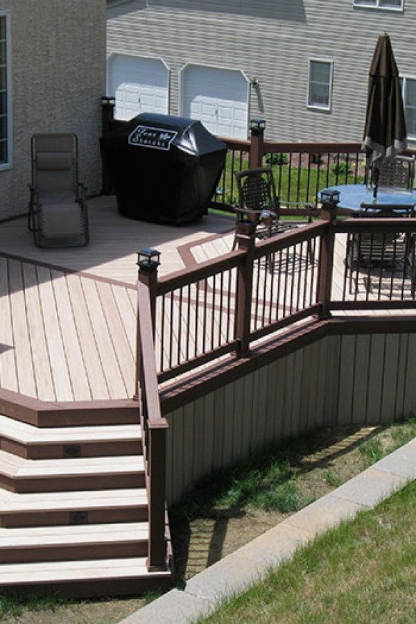 Easy DIY Deck Plans you might try for your backyard Deck Design
