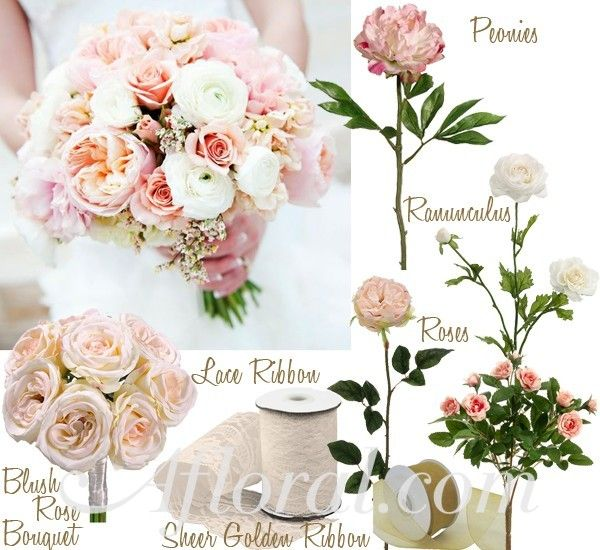 antique pink flowers for weddings | Vintage Pink Wedding Flowers ~ Sarah's Inspiration Board | Afloral ...