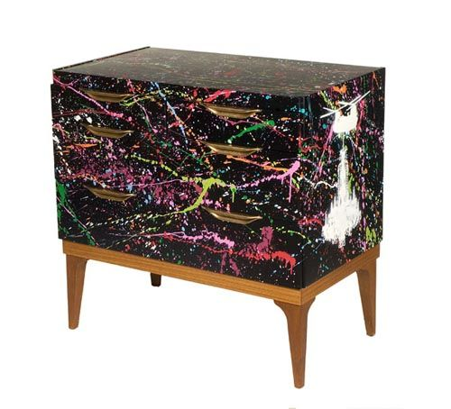 25+ Best Ideas About Graffiti Furniture On Pinterest