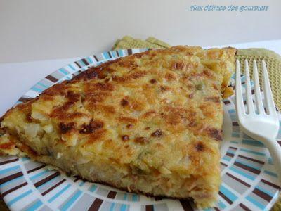 Aux délices des gourmets: GALETTE DE CHOU BLANC
