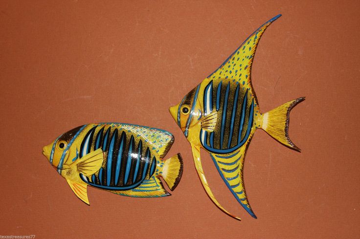 "(2) 6"", SEA LIFE THEME BATH DECOR, OCEAN THEME BATH DECOR,TROPICAL FISH F164,193 #SEALIFEOCEANTROPICALBATHDECOR"