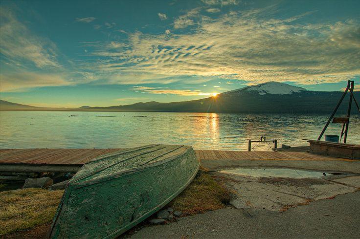 diamond lake sunset by springfieldshtos