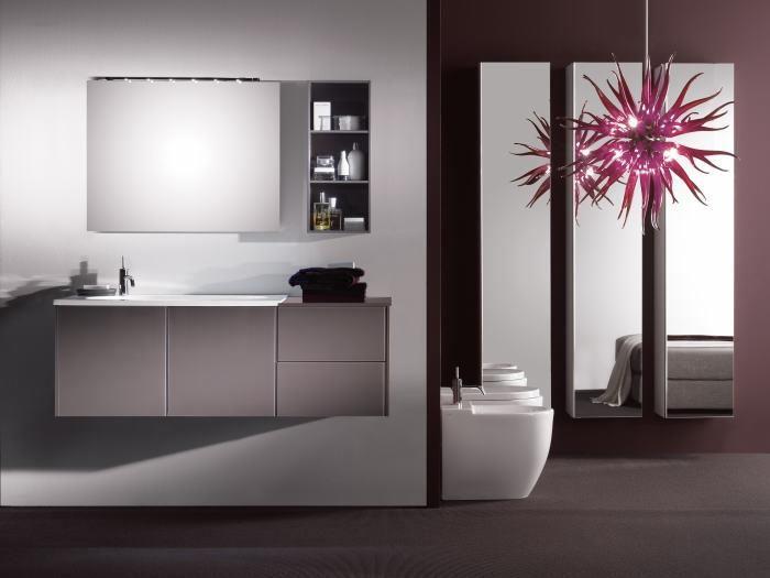 Oltre 25 fantastiche idee su mobili da bagno su pinterest - Specchio contenitore bagno prezzi ...