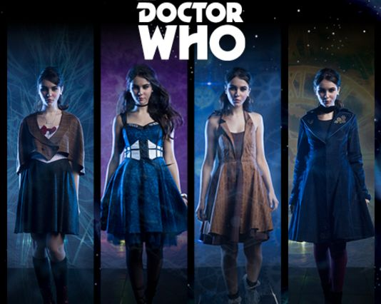 "So, Hot Topic has just released a Doctor Who clothing collection. | This New ""Doctor Who"" Clothing Line Is Size-Inclusive And Awesome"