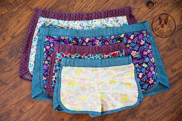 Free pattern - city gym shorts