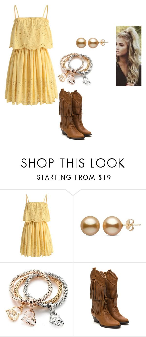 """country chic girl"" by hollylovesmusic ❤ liked on Polyvore featuring Chicwish, country, cute, teen, outfits and countrygirl"