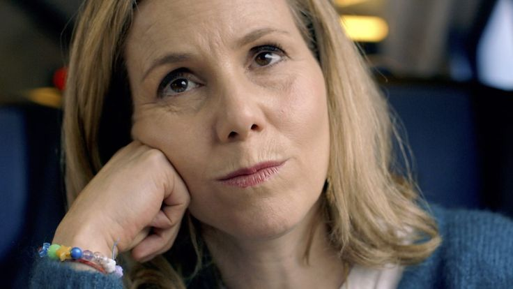 Sally Phillips acts out a little drama.