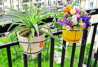 3X Metal Iron Flower Pot Hanging Balcony Garden Plant Planter Home Decor basket in Cameras,Photographic Accessories,Cases, Bags & Covers | eBay