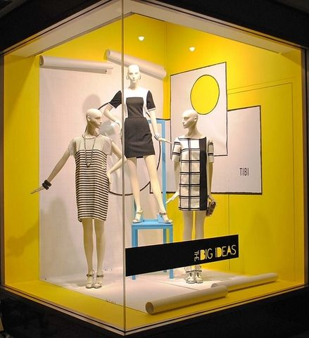 Nordstrom corner window display. #retail #merchandising # ...