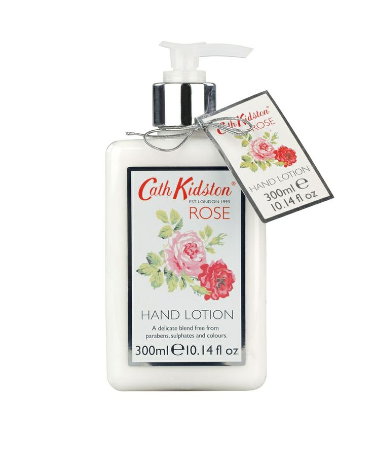 Cath Kidston Rose Hand Lotion £10 As far as lotions and potions go this is a dressing table must have!