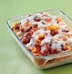 Pasta al forno con ragù di fagioli e besciamella di cavolfiore - Tutte le ricette dalla A alla Z - Cucina Naturale - Ricette, Menu, Diete