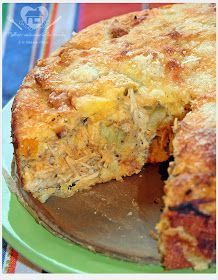 Essa tortinha de foi frango inspirada noInstagram do Viver sem trigo, lá há muitas receitas deliciosas gluten free.  Em substituicao ao tri...