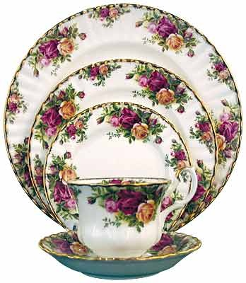 Who doesn't love Old Country Roses from Royal Doulton?