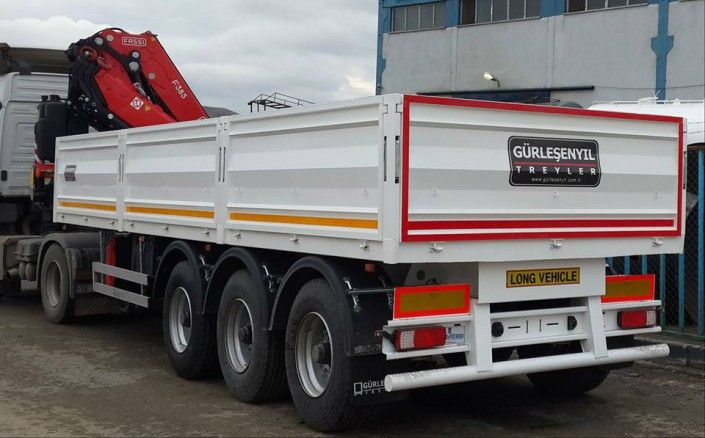 GT Semi Trailer can offer different type or Flatbed Trailers for dry loads. These kind of Flatbed Trailers are used for carrying container, steel, other items which is loaded with pallet. GT Semi Trailer can offer these Flatbed Trailers with different specification according to country regulations and customer demand.