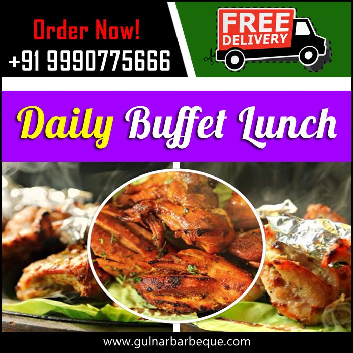Daily Buffet Lunch Order Online:- +91 9990775666