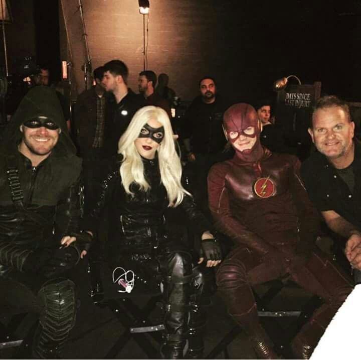 Special guests: Arrow, Canary & Flash