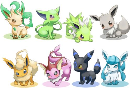Chibi Pokemon Eevee | If you had a shiny Eevee...