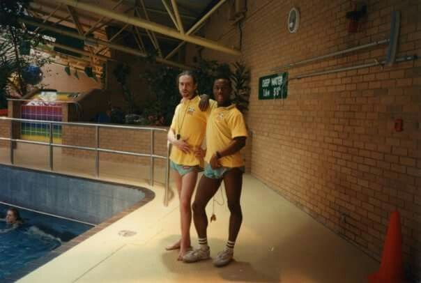 The Fulham Pools London with Hippy Clive & Wayne Allen by Rob Jones