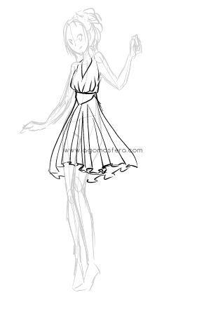 Cómo dibujar ropa                                                                                                                                                     Más
