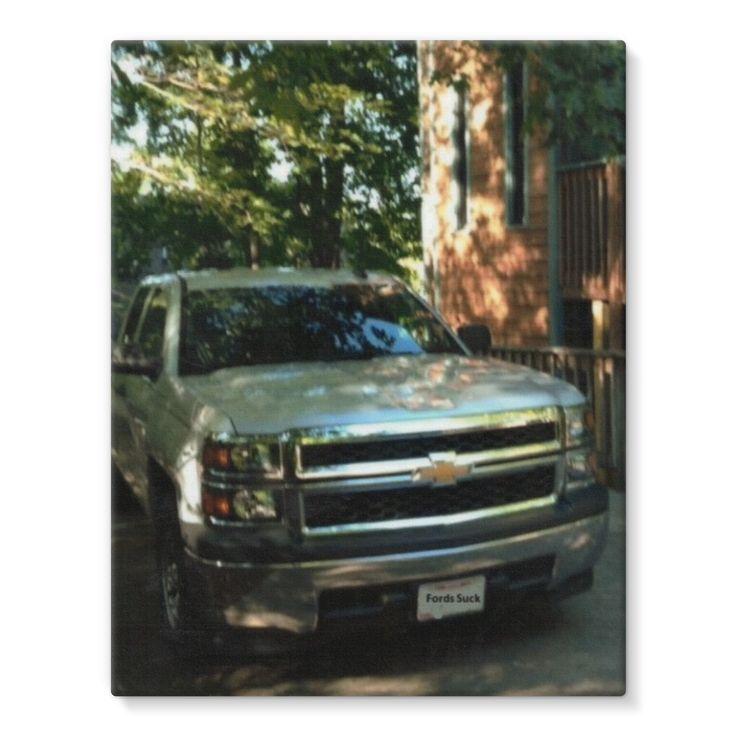 Chevy Silverado Stretched Eco-Canvas