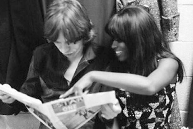Claudia Lennear and Mick Jagger