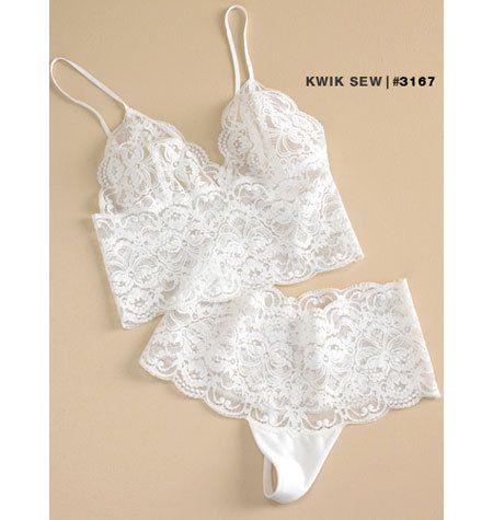 Coser el patrón - patrón de camiseta para mujer, modelo de Panty, ropa interior patrón dos vistas - Kwik coser #K3167
