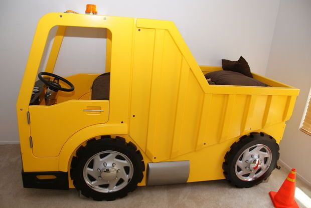 17 best images about tucker 39 s room on pinterest disney john deere and mickey mouse - Kids dump truck bed ...