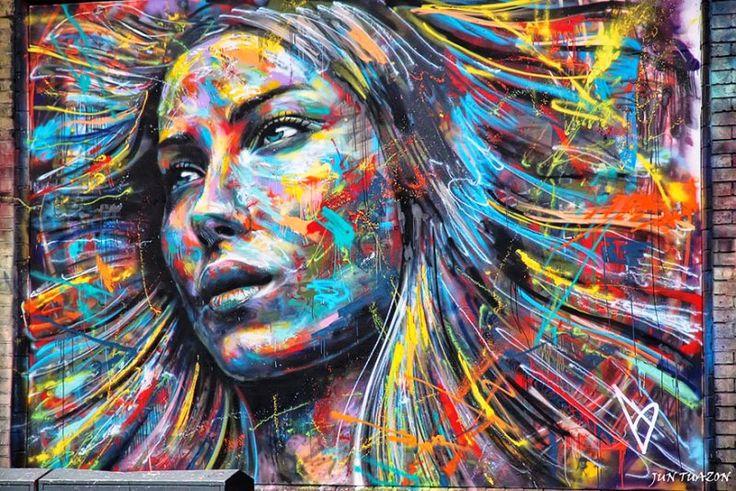 Seni Jalanan Lukisan Mural di Kota London di Inggris 3