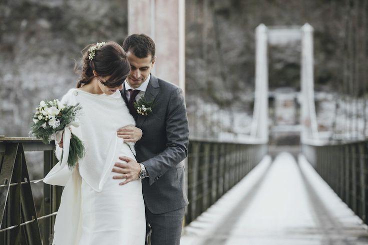 Dettagli rustici perfetti per un matrimonio invernale in montagna | Wedding Wonderland