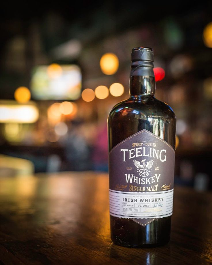Teeling Single Malt Irish Whiskey ages in 5 different wine casks (Sherry Port Madeira White Burgundy & Cabernet Savignon) in the Heart of Dublins Golden Triangle in order to retain that distinctive Irish smoothness.  Come by at 4pm for happy hour and let this whiskey work its warming magic!