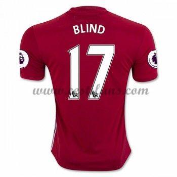 Manchester United Fotbalové Dresy 2016-17 Blind 17 Domáci Dres