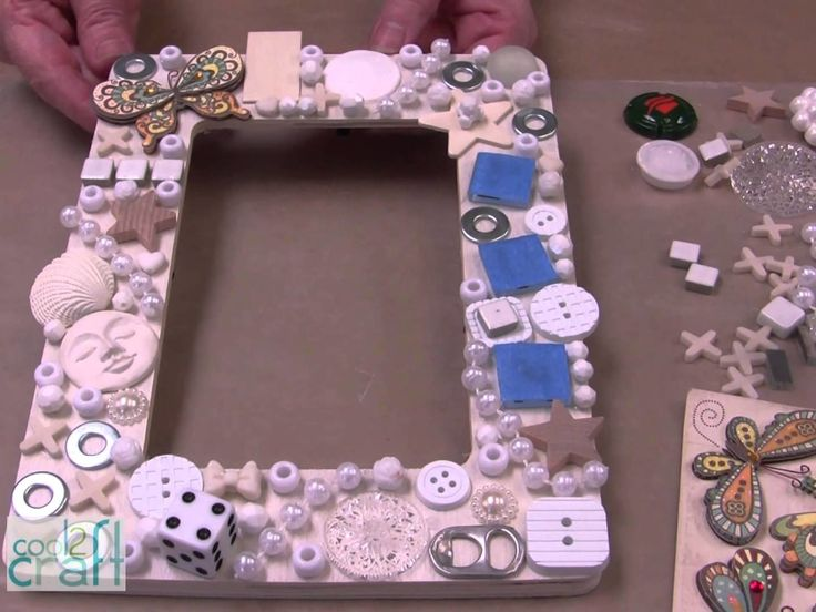 How-to make an Embellished Picture Frame